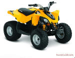 2011 Can-Am DS 70 Youth ATV