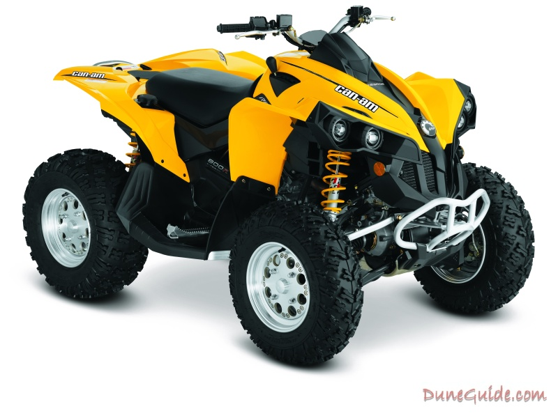 2011 can am atv lineup rh duneguide com Honda 450 ATV Can-Am Outlander 500