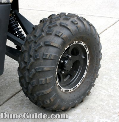 Carlilse 489 Tire mounted on ITP C-Series Type 7 in black