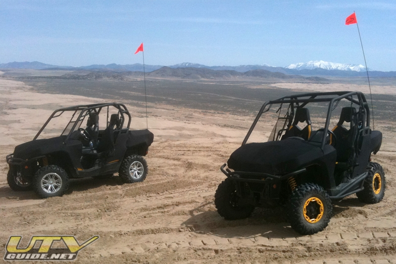 Can-Am Commanders at Little Sahara