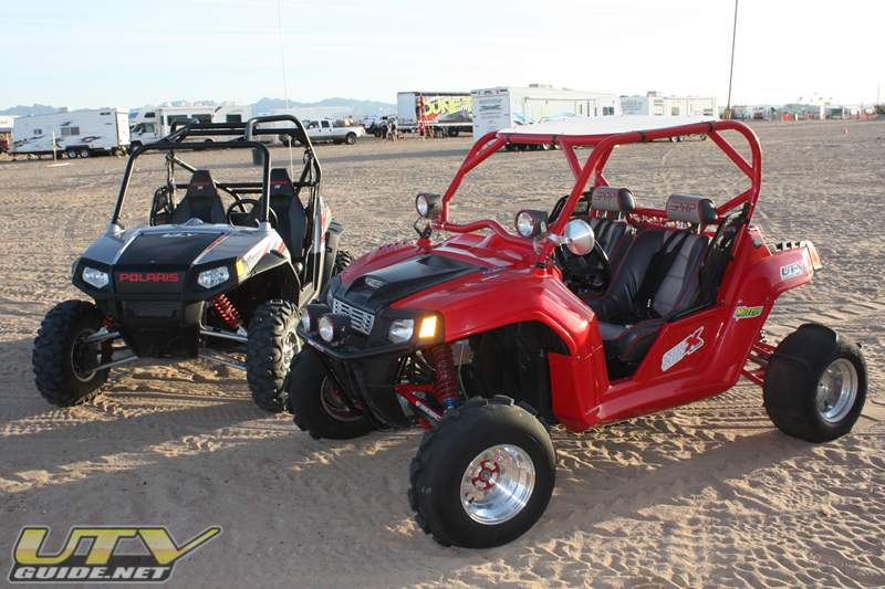 Polaris RZR S and long travel Polaris RZR