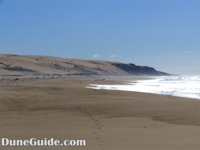 Gaudalupe Dunes - Looking towards Devil's Slide and Mussel Rock