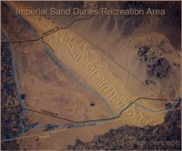 Imperial Sand Dunes Satelillte Photo