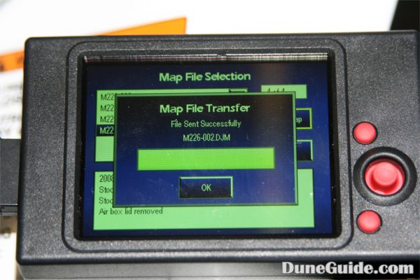 Dynojet - Power Commander III LCD Unit - Transfer map to PCIII