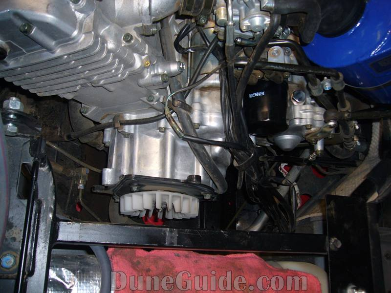 yamaha grizzly 660 engine oil change