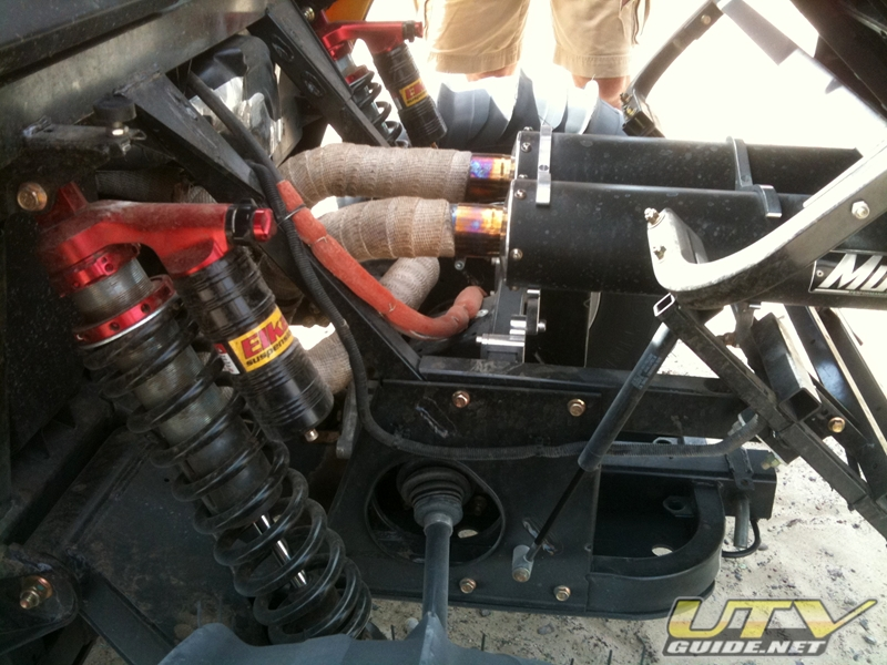 Elka Stage 4 Can Am Commander Shocks