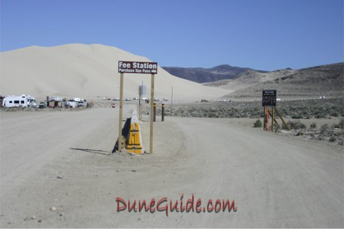 Sand Mountain Fee Station