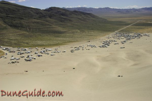 Sand Mountain camping area - April 2006