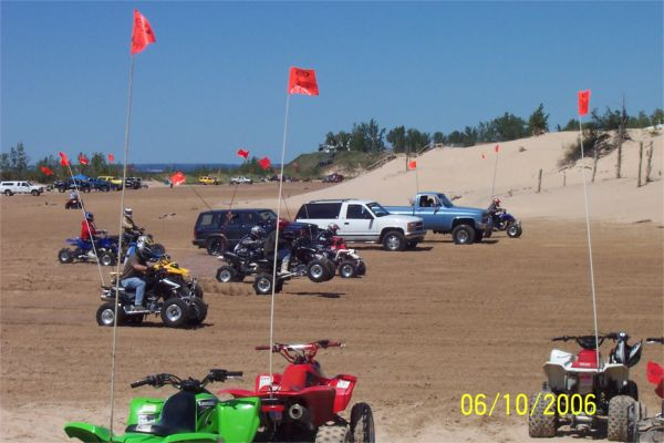Sand Drags at Silver Lake Sand Dunes - Michigan