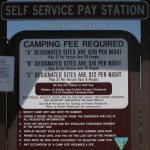BLM Camping Fees at Egin Lake