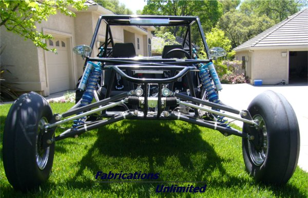 Two Seat Mid-Engine Sand Rail from Fabrications Unlimited
