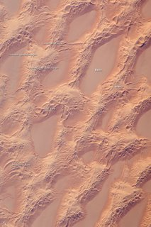 Sand Dunes, Marzuq Sand Sea, Southwest Libya