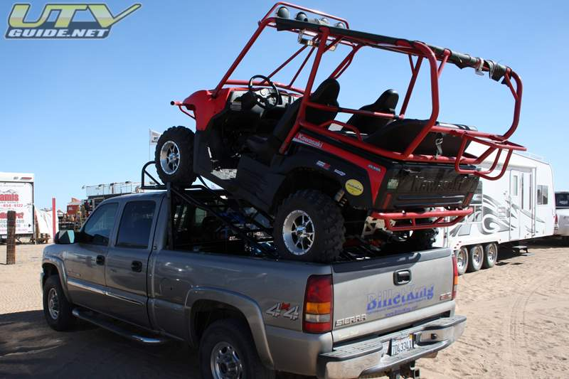 ATV Carrier For Pickup http://www.pic2fly.com/ATV+Pick+Up+Carrier.html
