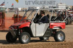 Four Seat Yamaha Rhino in Glamis with paddle tires