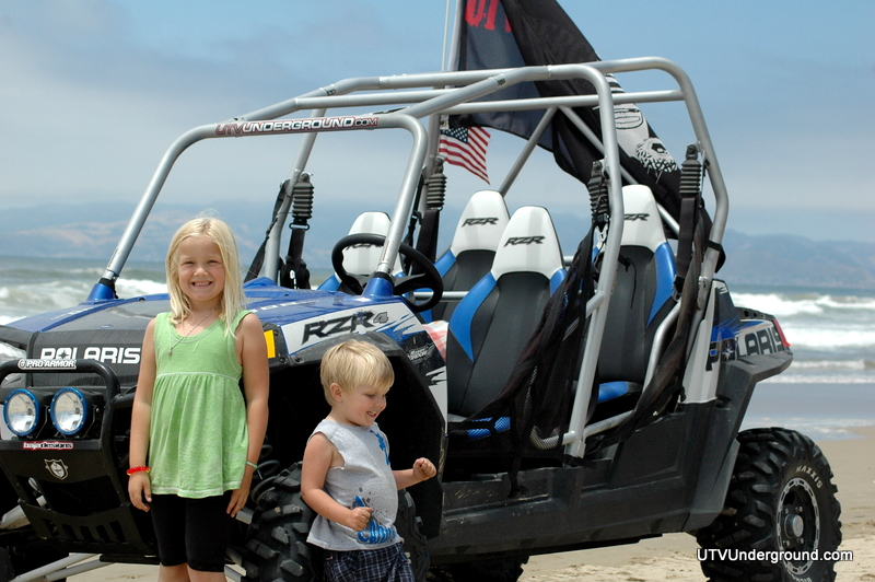 Polaris RZR 4 at Oceano Dunes